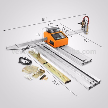 Automatic mini Metal Flame Cutter CNC Plasma Portable Cutting Machine