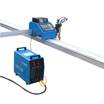 Portable flame/plasma cutting machine with high automation