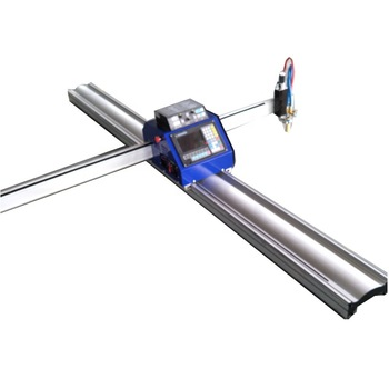 Portable cnc plasma cutting machine and cnc flame cutting machine