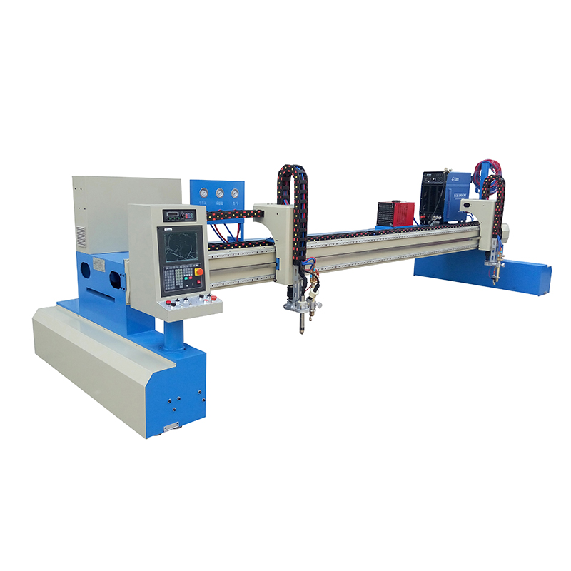 cnc gantry crane plasma flame cutting machine RM4080