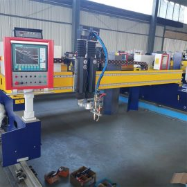 cnc gantry type plasma flame cutting machine RM-4080