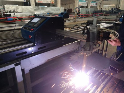 Chinese Honeybee easy operating portable metal cut cnc plasma gas cutting machine