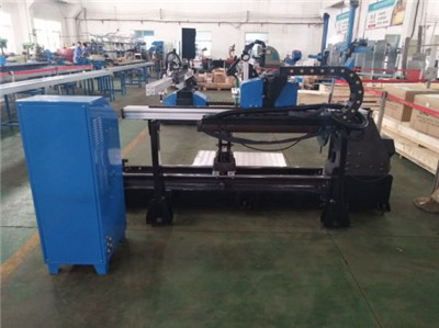 China plasma cutting machine with table