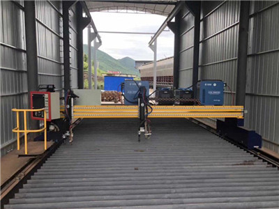 Nanjing BYFO ductwork tubeformer CNC sheet metal plasma cutting machine