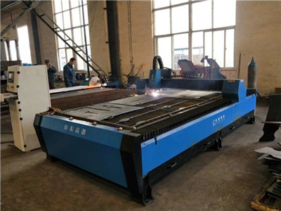 Fast speed cutting 1300x2500mm size cnc plasma cutter