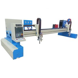 metal steel plate light duty gantry cnc cutting machine plasma
